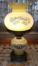 Vintage Jack Daniels Hurricane Lamp Quoizel Whiskey Electric