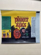 1968 Topps Planet of the Apes Wax Wrapper 5 Cent Reprint Rare