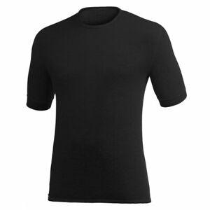 """WOOLPOWER T-Shirt, Modell """"TEE 200"""" Black"""