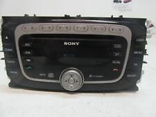 FORD MONDEO RADIO SONY UNIT 6 CD STACKER, MA-MC, 10/07-12/14 07 08 09 10 11 12