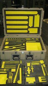 Kipper Hardigg Pelican Aviation Foot Locker FOD Tool Box Case w/ Wheels 38x28x17