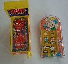 Vintage zwei FLIPER Kunststoff Tisch Griechenland Spielzeug