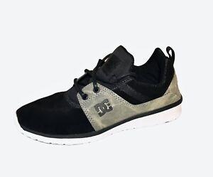 DC Boyss Heathrow SE Skate Shoes Skateboarding Black Size 5 Youth