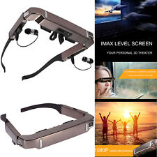 For Android 4.4 Vision 800 3D Video Glasses Bluetooth 5MP Camera 700x540 128GB