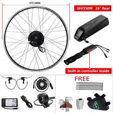 36V350W E-bike Conversion Kit Vélo électrique y comprise 36V Batterie+Chargeur