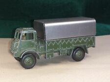 DINKY TOYS №623 COVERED WAGON BRITISH ARMY BEDFORD QL WW2 CIRCA 1944 c/w CANOPY