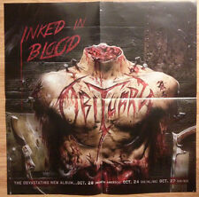 Music Poster Promo Obituary ~ Inked In Blood