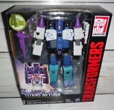 New Transformers Titans Return Dreadnaut & Decepticon Overload