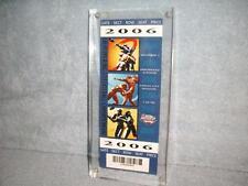 Dr Pepper Big 12 Football 2006 Kansas City Missouri Ticket Stub Dec 6 Arrowhead