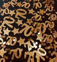 Age Table Confetti - Custom,Any Age,Any Colour -60 Pcs- Birthday Party,Tableware