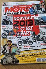 MOTO JOURNAL N°2000 NORTON 850 COMMANDO HONDA ST 1100 PAN EUROPEAN NC 700 X 2012