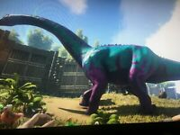 Ark Survival Evolved Xbox One PVE Official CC Brontosaurus Unleveled