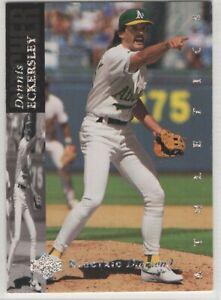 1994 Upper Deck Electric Diamond Oakland Athletics Team Set