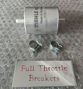 BMW R 1150 GS / RS / S / RT / R  MAHLE FUEL FILTER AND HOSE CLAMPS