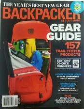 Backpacker April 2017 Gear Guide 157 Trail Tested Products FREE SHIPPING sb