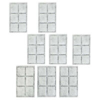 8Pcs Pet Fountain Filters Replacement for Drinkwell Automatic Pet Fountain  X3M6