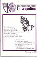 Feb 1964 The Southwestern Episcopalian Gordon Leggett Nathaniel Pendleton Jr.