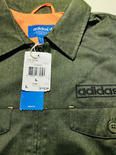 Adidas Originals WorkWear Military Jacket Earthgreen Orange Z30086 US L RARE NEW