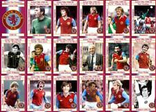 Aston Villa 1981 Division One Champions football trading cards (1980-81)