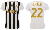 Maglia Chiesa Juventus 2020 2021 ufficiale ORO 22 Juve Home divisa Fede