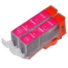 2 Patronen für Canon mit Chip CLI-521 magenta IP 3600 4600 4700 MP 550 NEU