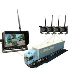 Heavy Duty Wireless Backup Camera System With 2, 3 Or 4 Cam Options
