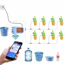 Auto Drip Irrigation System Remote Wifi Control Watering Device Garden Plant