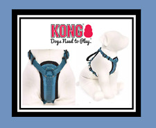 KONG COMFORT PADDED DOG HARNESS S SMALL BLUE