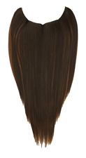 "Hidden Halo 18"" Hair Extension, Medium Brown with Copper Highlights F6/30"