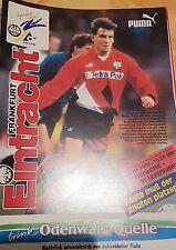 1994/95 1.Bundesliga Eintracht Frankfurt - Bayer 04 Leverkusen