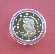 Monaco 2012 500 years of sovereignity 2 Euro Bi-metallic Proof Coin