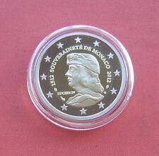 Monaco 2012 500 years of sovereignity 2 Euro Bi-metallic Proof Coin