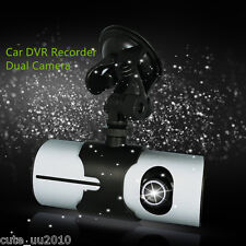 "Universal Car DVR Recorder Full Hd 1080P Dash Cam 2.7"" LCD Screen Dual Camera"