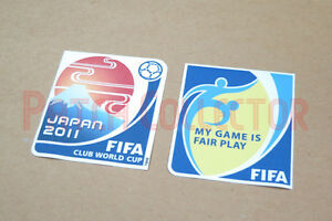 Club World Cup Japan 2011 Sleeve Soccer Patch / Badge