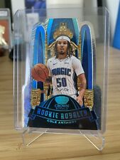2020-21 Panini Crown Royale COLE ANTHONY ROOKIE ROYALTY PLATINUM 1/1 ONE OF ONE