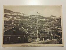 CARTOLINA MONCENISIO CIPPO DI CONFINE VALLE SUSA CENISCHIA TORINO VIAGGIATA 1942