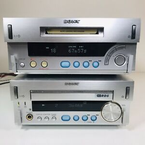 Sony MDS / HCD-SD1 CD Player Receiver Amp Stereo Minidisc MD player / recorder