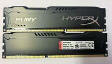 8 GB 2x4GB DDR3 FURY HYPER X PC3-14900 1866 MHZ  240 PIN Gaming PC RAM Warranty