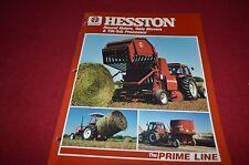 Hesston 5545 5585 5530 5510 Round Baler Dealer's Brochure DCPA2
