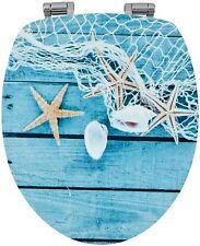 Sanwood 334437 WC-Sitz STARFISH Glossy Art mit hochglänzender Oberfläche, Revers