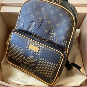 Louis Vuitton NIGO Backpack Bag N40380 Monogram Damier Canvas Auth LV New Unused