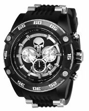 Invicta Marvel Punisher Men's 52mm Limited Edition Black Chronograph Watch 26859