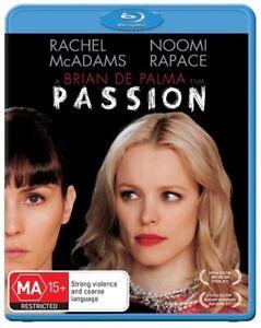 Passion (Blu-ray, 2013)*Terrific Condition*Rachel McAdams*