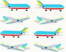 Airliners Aeroplane Plane Travel Flight Passenger Mrs Grossman Stickers