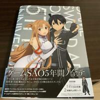 Sword Art Online 5th Anniversary Official Design Works Artbook *
