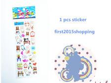 2018 Cartoon Stickers Puffy Craft Animal Miffy 1pc Foam Kid Party Birthday Gift