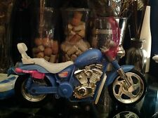 Barbie MOTORCYCLE by Mattel Inc 1999 TETHERED REMOTE CONTROL #67327 Purple/Pink