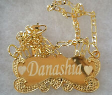 Handmade 18K  Gold Plated Custom Any Personalized Name Necklace Gift for her