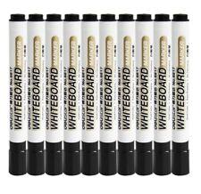 10 pcs Black fast dry easy erase top quality 2mm Whiteboard pen Marker Pen