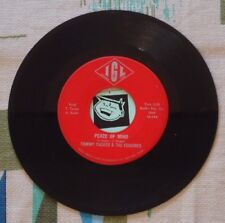 Tommy Tucker & The Esquires 45 Peace of Mind 1966 IGL Iowa Garage VG+